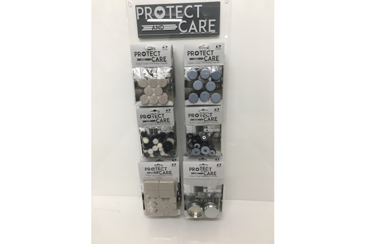 Protect and Care Acrylic Wall Stand