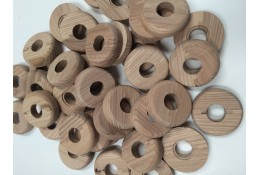Bulk Bag of Pipe Rosette/ Covers – Wood-effect plastic – STR205B