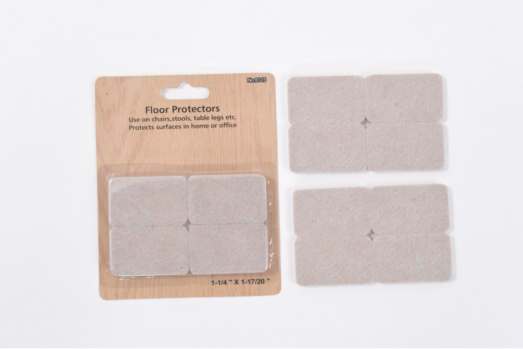 8-piece Felt Packet 1¼ x 17/8 inch (32 x45mm) – 5mm Thick – STR17